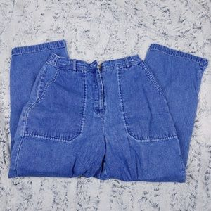 ORVIS | vintage high waisted mom jeans size 8